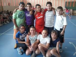 Campeonato de voley en el CEIP Miguel Rueda