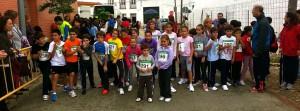 cross Villa de Paradas en educación física