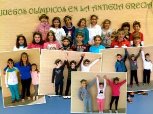 Agones. Juegos olímpicos en la antigua Grecia en educación física