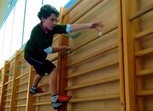 unidad didáctica de escalada y trepas en educación fisica