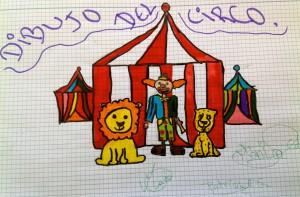 Mascota para el proyecto educativo viajando con el circo