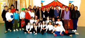 Viajando con el circo. Foto familia del proyecto educativo