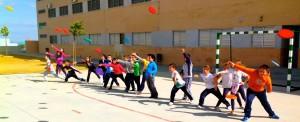lanzamientos y recepciones en educación física