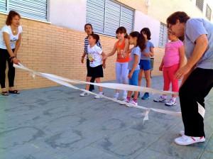 Educación física en familia