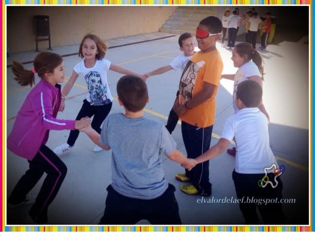 Juegos para desarrollar los órganos de los sentidos en educación física