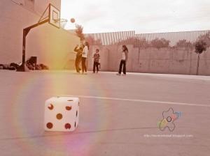 azar y educación física: iniciación al baloncesto