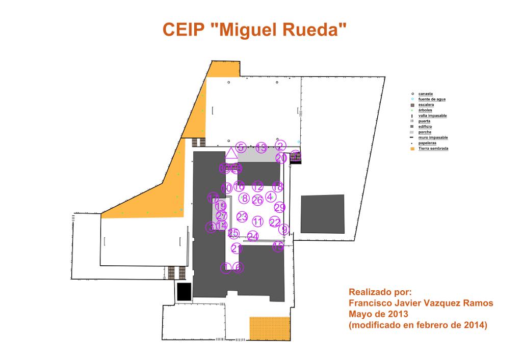 circuito de orientación relacionando  flamenco y educación física