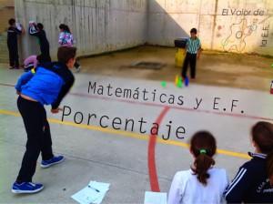 Porcentaje y matemáticas en educación física
