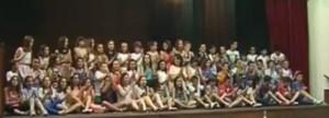 acto de graduación fin de primaria 2013/14