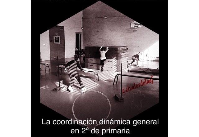 Coordinación dinámica general en 2º de primaria