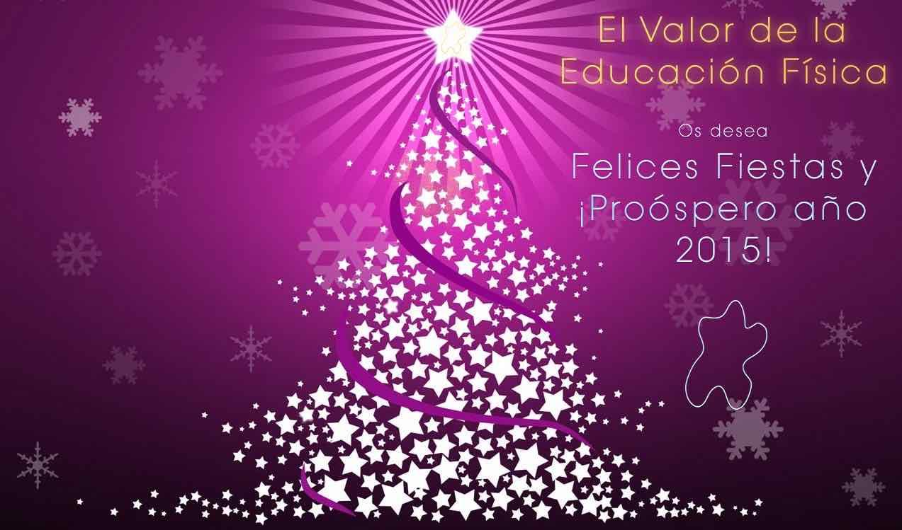 Felices Fiestas os desea el Valor de la Educación Física