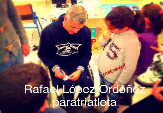discapacidad y vida con Rafael López Ordóñez