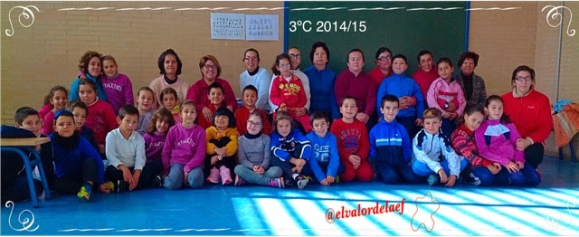 foto 3ºC discapacidad y familia en educación física: educación física en familia