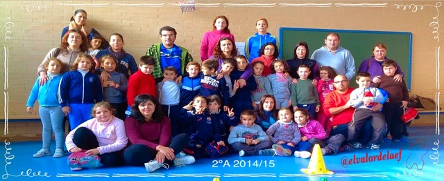 educación física en familia. Discapacidad