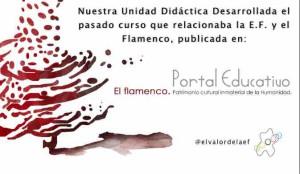 Unidad didáctica de flamenco en el portal educativo de Andalucía