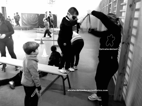 discapacidad educación física en familia