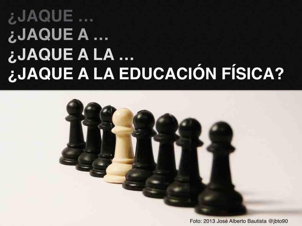 Educación Física ajedrez