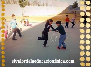 desplazamientos en 2º de primaria en educación física