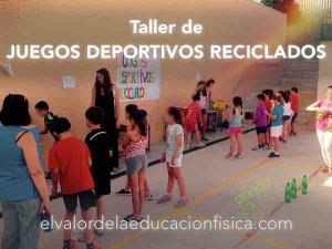 Juegos deportivos reciclados