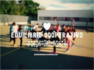 equilibrio cooperativo en educación física