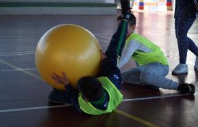 Recepción en baloncodo, nuevo deporte alternativo
