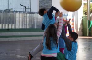 Saque en baloncodo, nuevo deporte alternativo