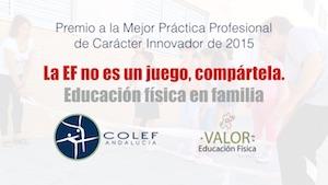 premio a la mejor práctica profesional de carácter innovador de 2015 de EF