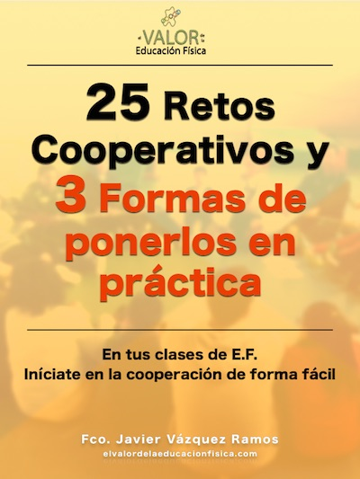 Portada ebook 25 retos cooperativos