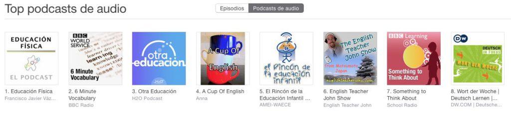 educación física podcast