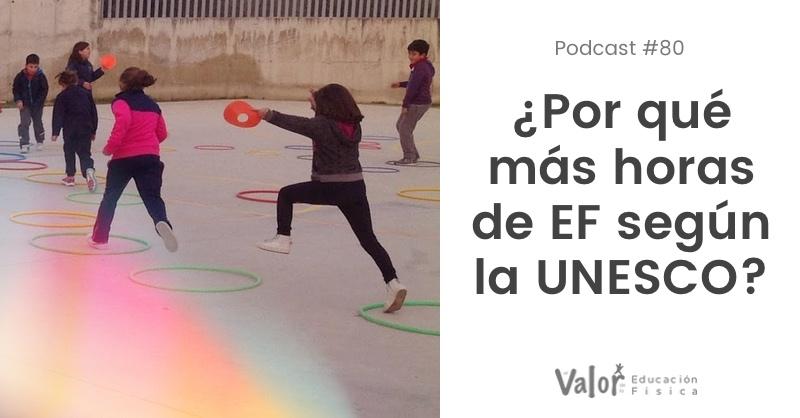 Por qué más horas de educación física según la UNESCO