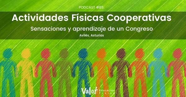 Congreso de Actividades físicas cooperativas de Avilés