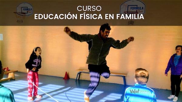 curso de educación física en familia