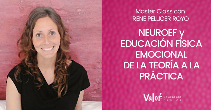 Educación física emocional con Irene Pellicer Royo Master Class