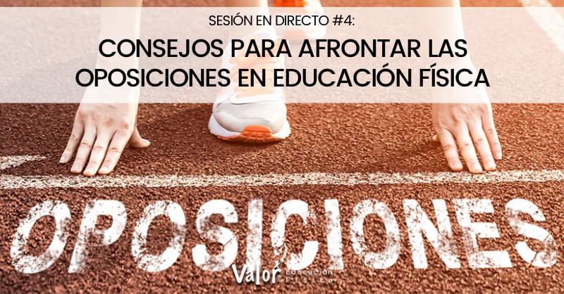 oposiciones en educación física, consejos para afrontar el examen de oposiciones