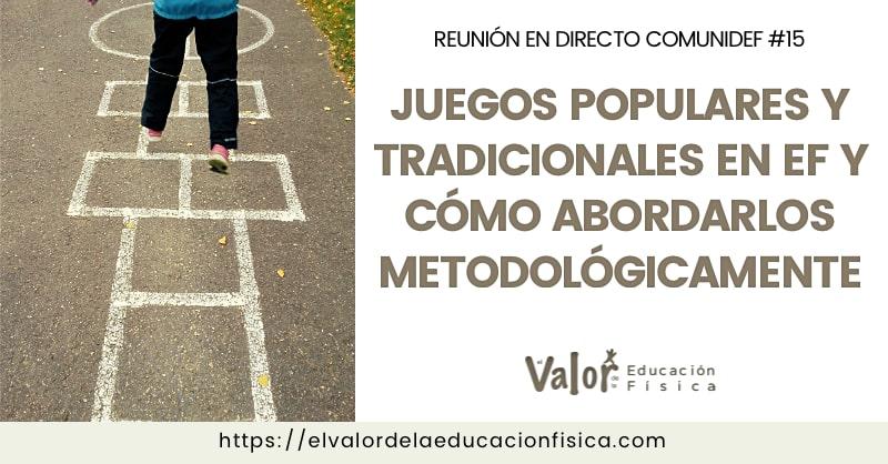 Juegos populares y tradicionales de España en educación física