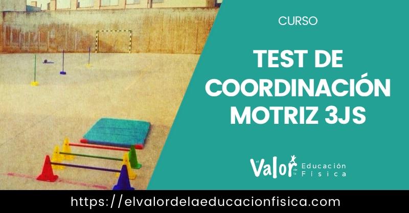 Mostrar de forma visual el test de coordinación motriz 3JS para educación física