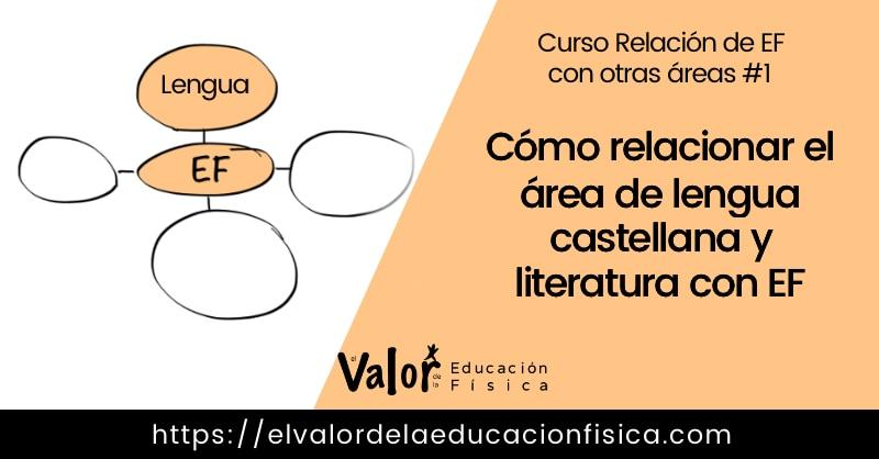 #1 Cómo relacionar el área de EF con el área de lengua castellana y literatura