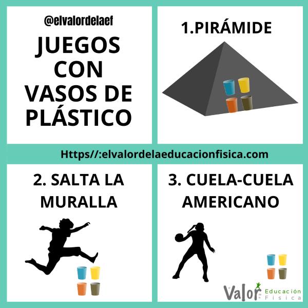 Juegos Con Vasos De Plástico