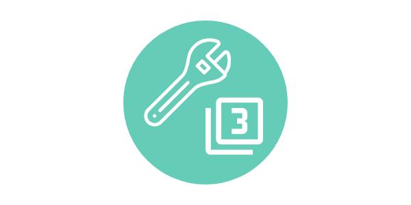 recursos organizados por criterios sobre EF sin material y con distancia social