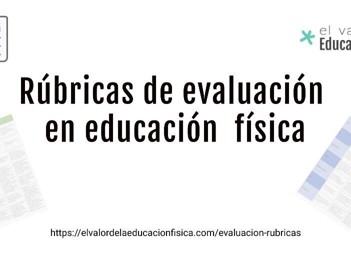 rúbricas de evaluación en educación física